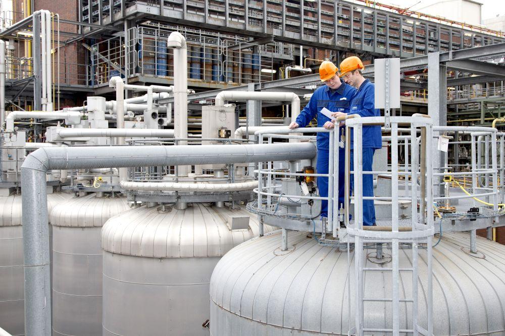 Soluciones para la industria química