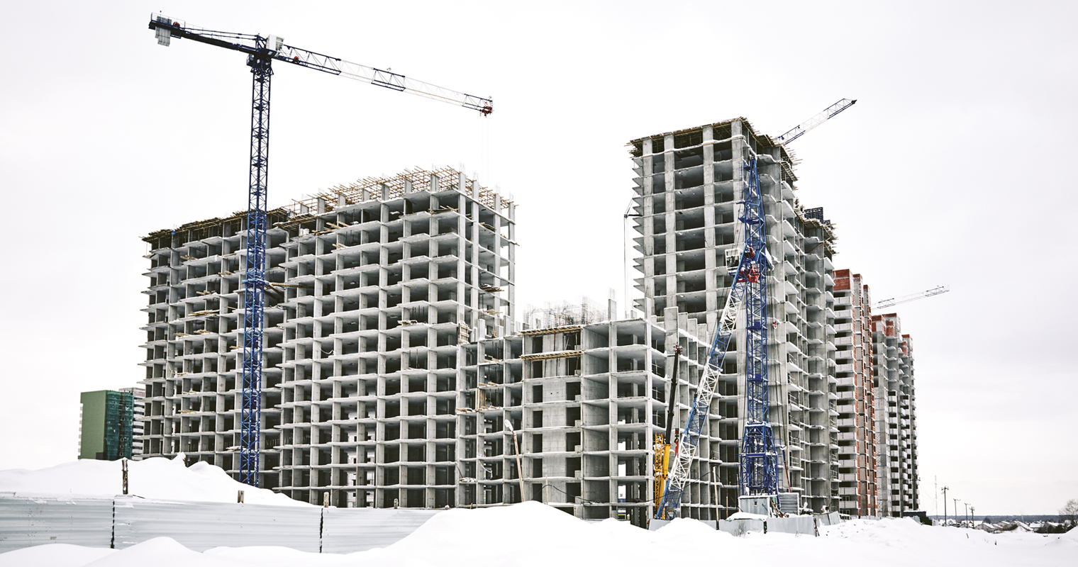 Hvordan unngås stopp på byggeplassen i den kalde årstiden?