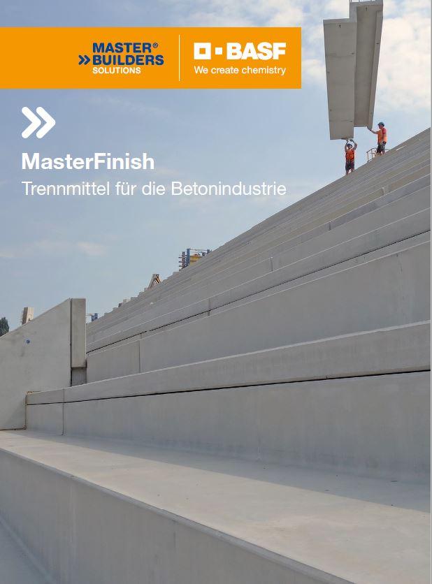 Broschüre MasterFinish-Trennmittel