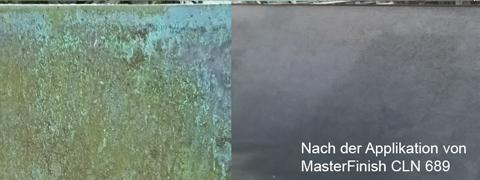 Schmutz auf Schalung-Reiniger MasterFinish CLN 689