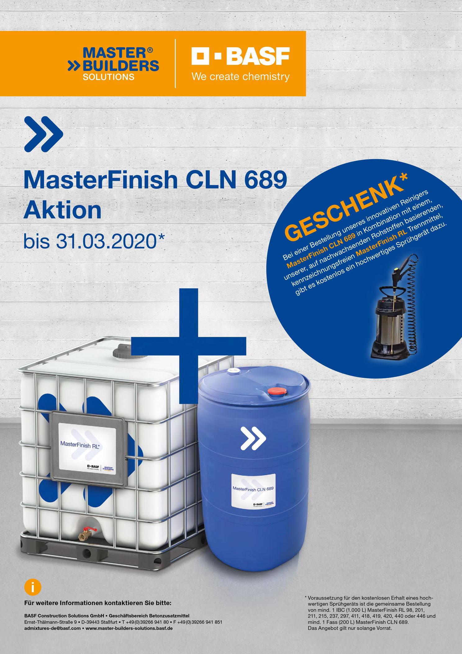 MasterFinish CLN 689 Aktion