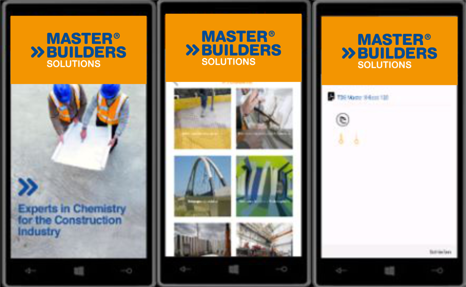 Product Finder App Master Builders Solutions