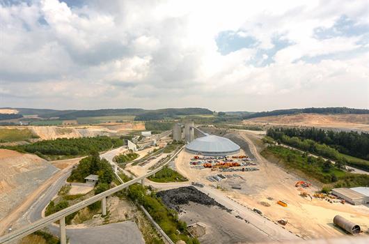 Цементный завод.