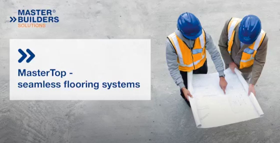 MasterTop seamless flooring systems from Master Builders Solutions