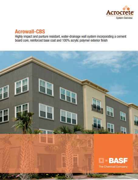 Acrowall CBS System Overview