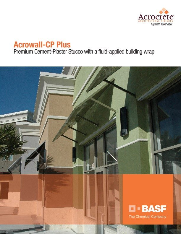 Acrowall-CP Plus System Overview