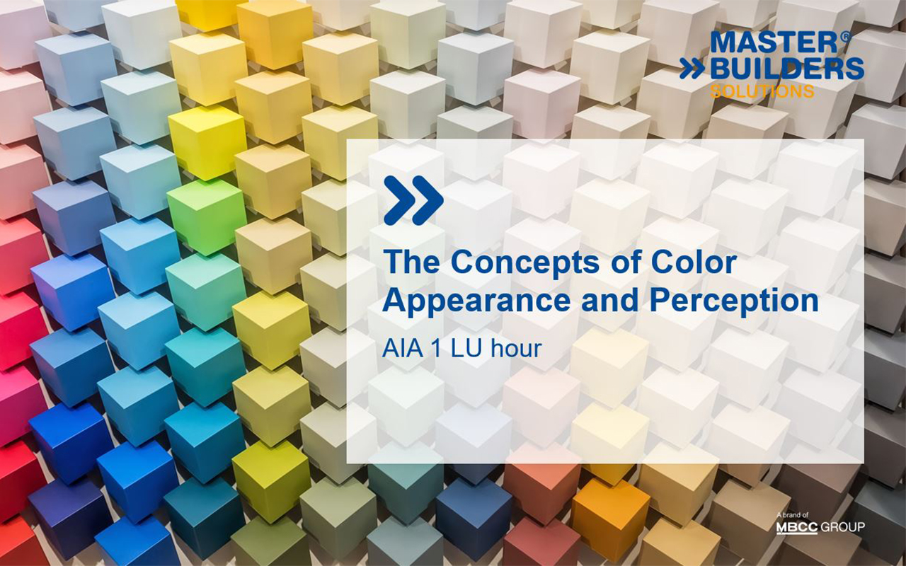 New AIA Course: The Concepts of Color Appearance & Perception
