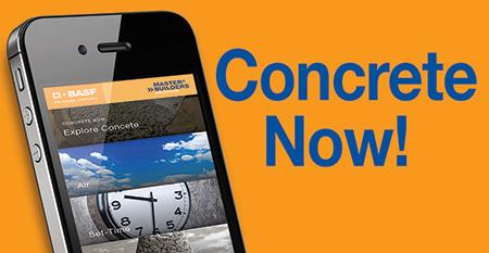 Concrete Now! App
