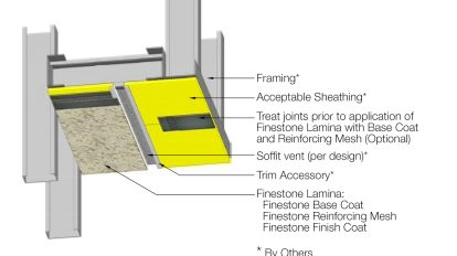 Direct Finish Systems for Soffits and Ceilings