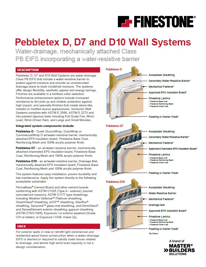Pebbletex D7 System Overview