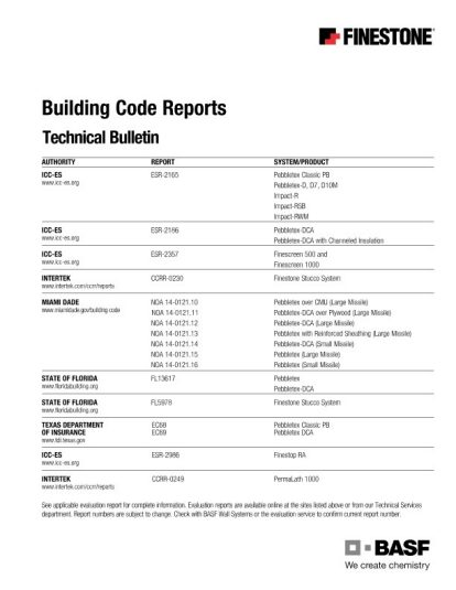 Building Code Reports (Report References) Teaser Image