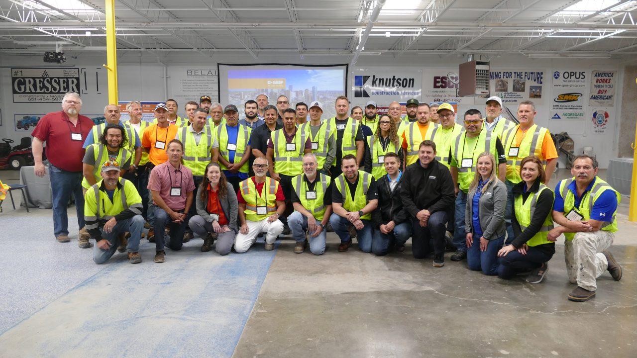 BASF Wall Systems holds Applicator Training