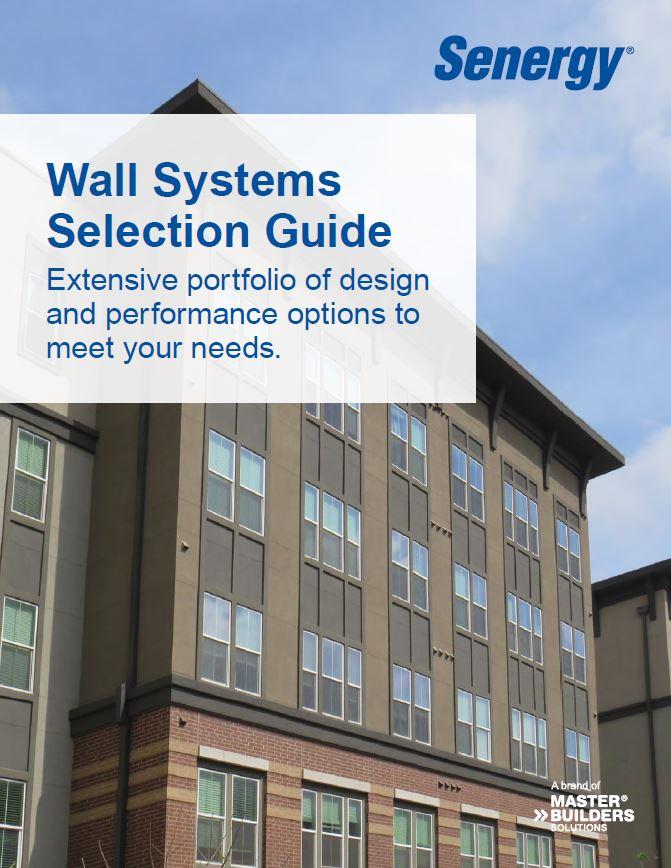 Senergy Wall Systems Selection Guide