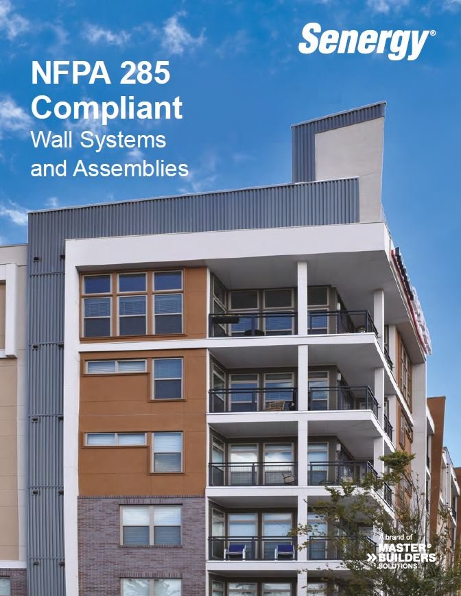 NFPA 285 Compliant Wall Systems and Assemblies Brochure Teaser Image