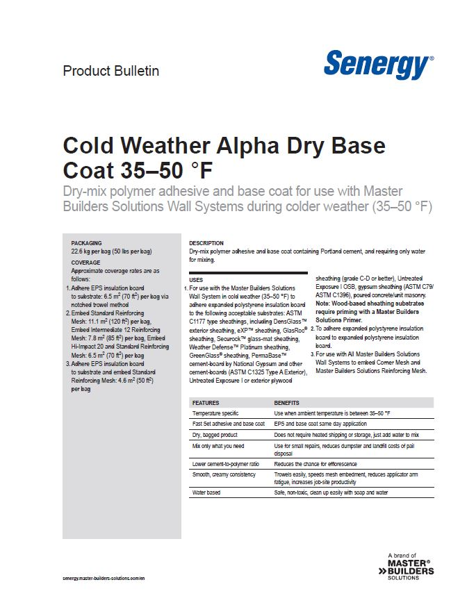 ​​​​​​Cold Weather Alpha Dry Base Coat