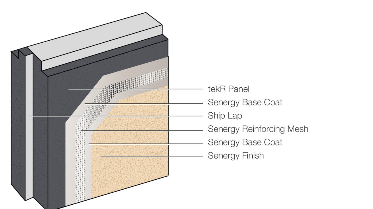 Surfacing Systems for tekR Panelized Building System