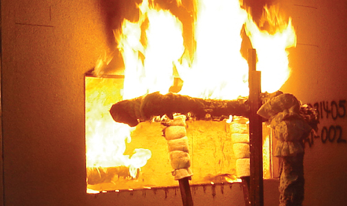 What you need to know about the NFPA 285 fire test