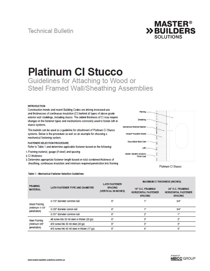 Guidelines for Attaching to Wood or Steel Framed Assemblies Technical Bulletin Teaser Image