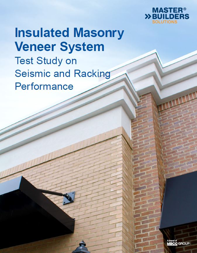 Insulated Masonry Veneer System Test Study on Seismic and Racking Performance