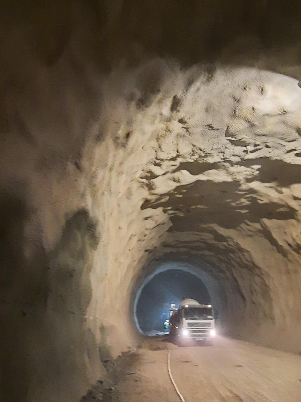 Interior de los túneles de Lilla
