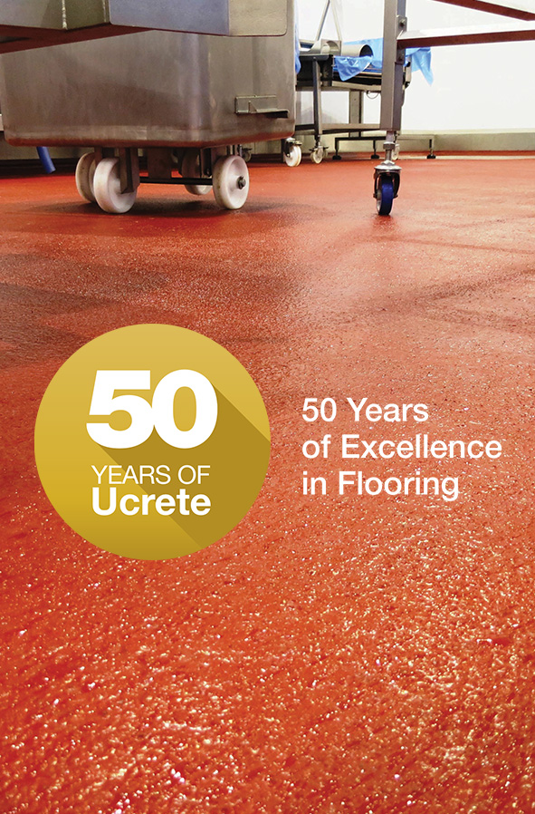 Ucrete celebrates 50 years of excellence in flooring Teaser Image