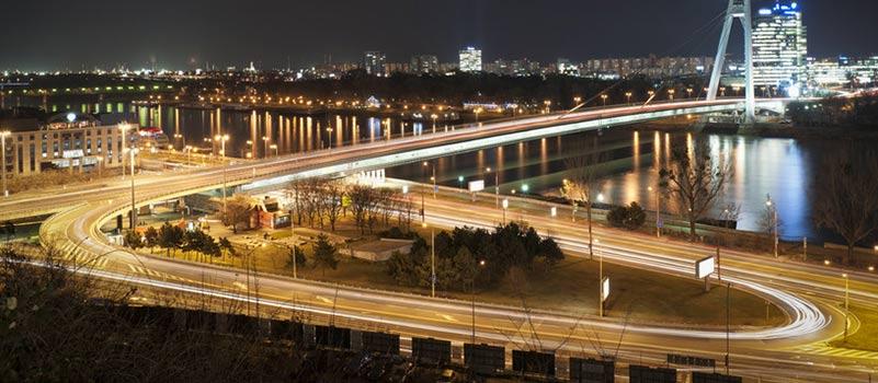 Väg och bro